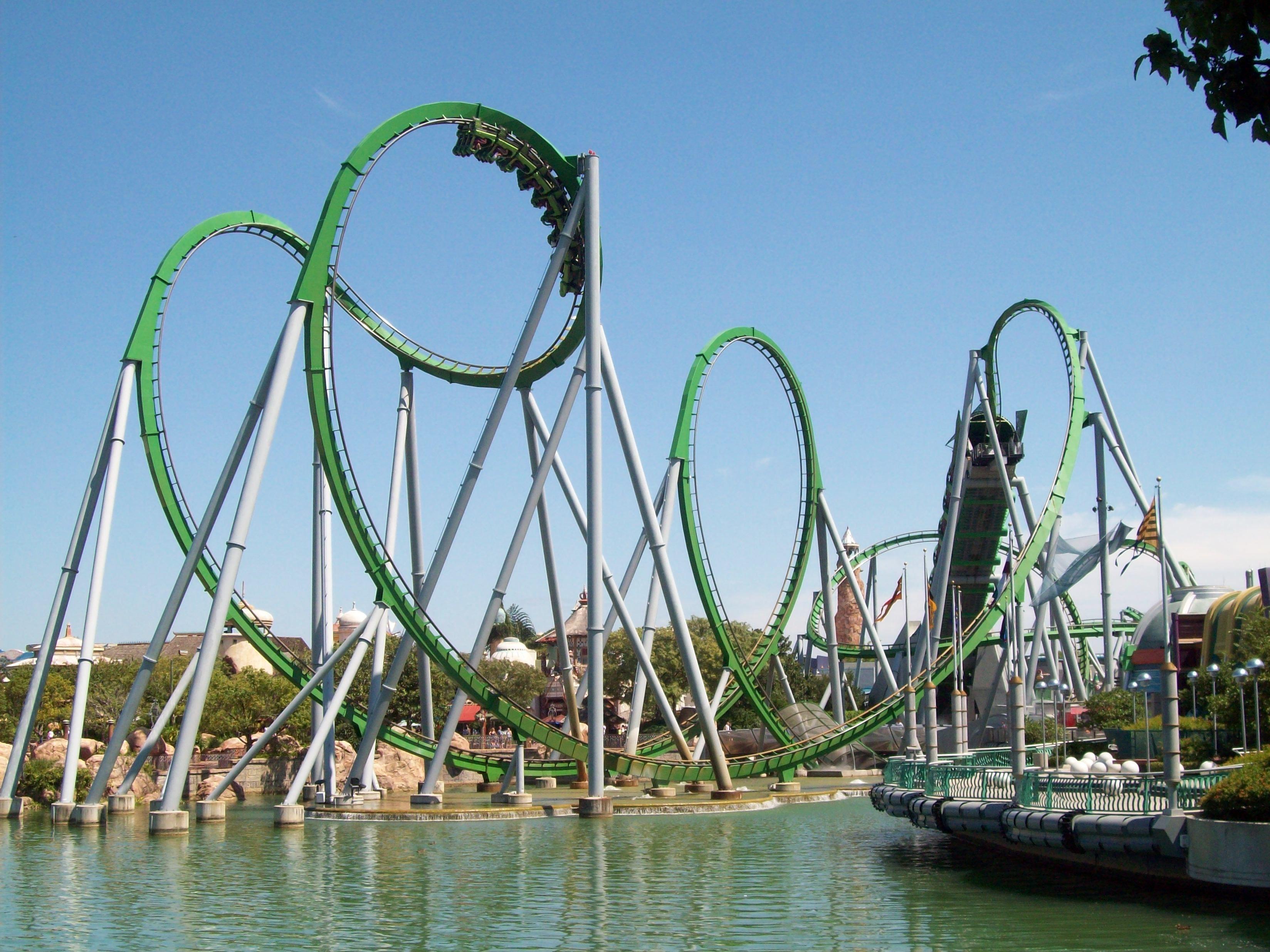 Orlando Universal Rollercoasters
