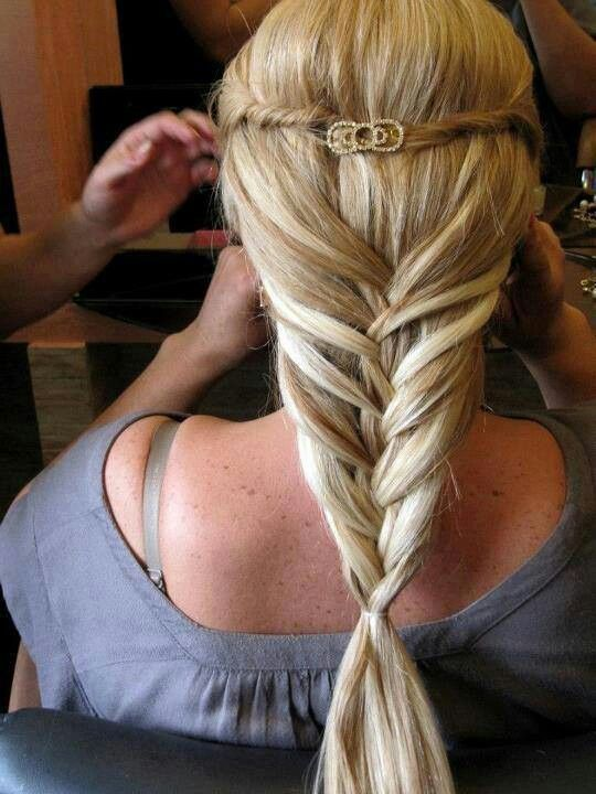 Checkerboard Braid Princess Hairstyles