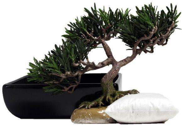 Imagine como ficaria esse bonsai montado! Imaginou? Então agora confere se sua imaginação acertou! Clica nele!