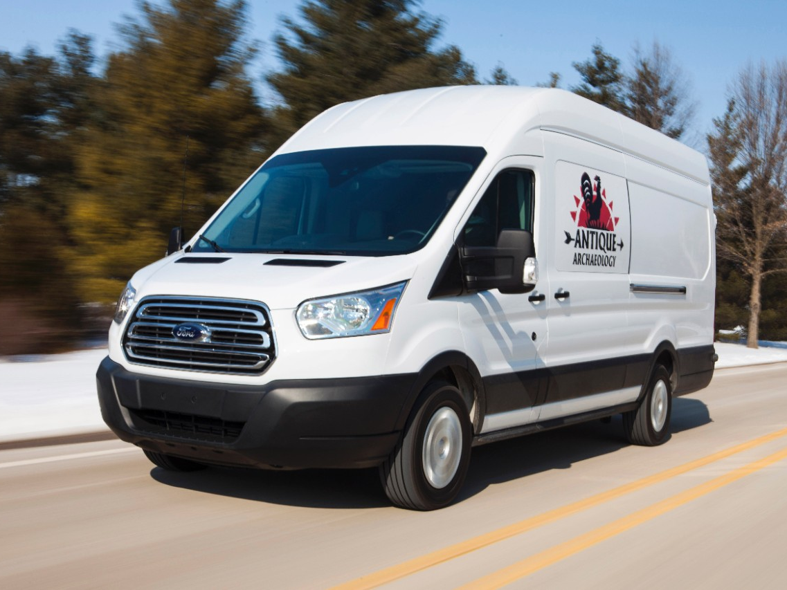 2015 ford transit joins american pickers cast