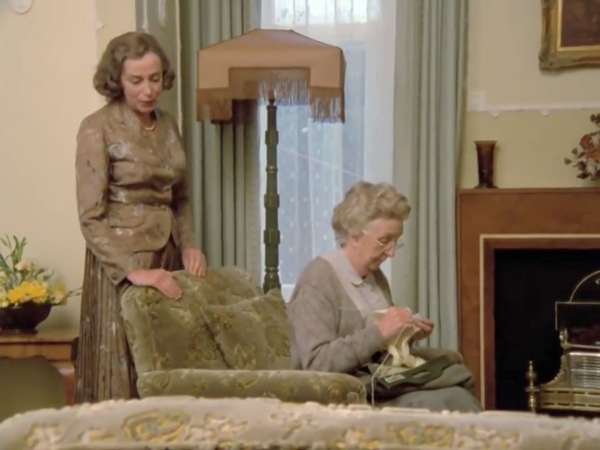 Agatha Christie. Jane Marple and Dolly Bantry in, The body in the Library.