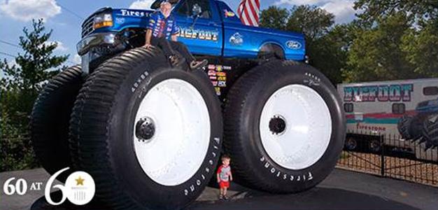 O mais alto, mais largo e mais pesado caminhão-monstro do mundo