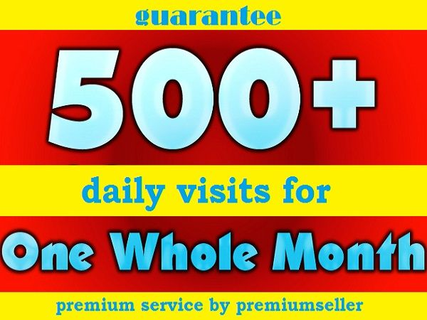 Premium SEO Traffic Services