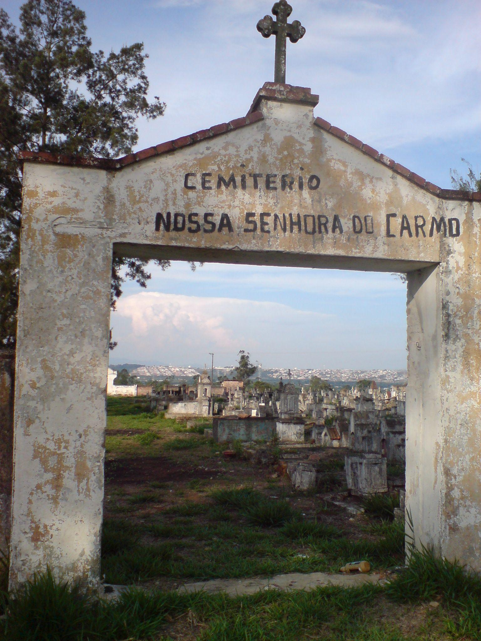 cemitrio Nossa Senhora do Carmo cemitrio dos leprosos Mogi das