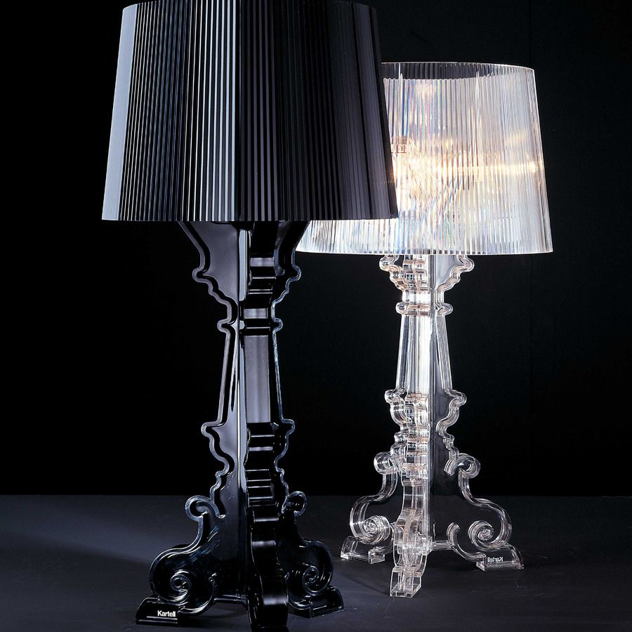 Bourgie lamp philippe starck for kartell epic design for Iba arredamenti
