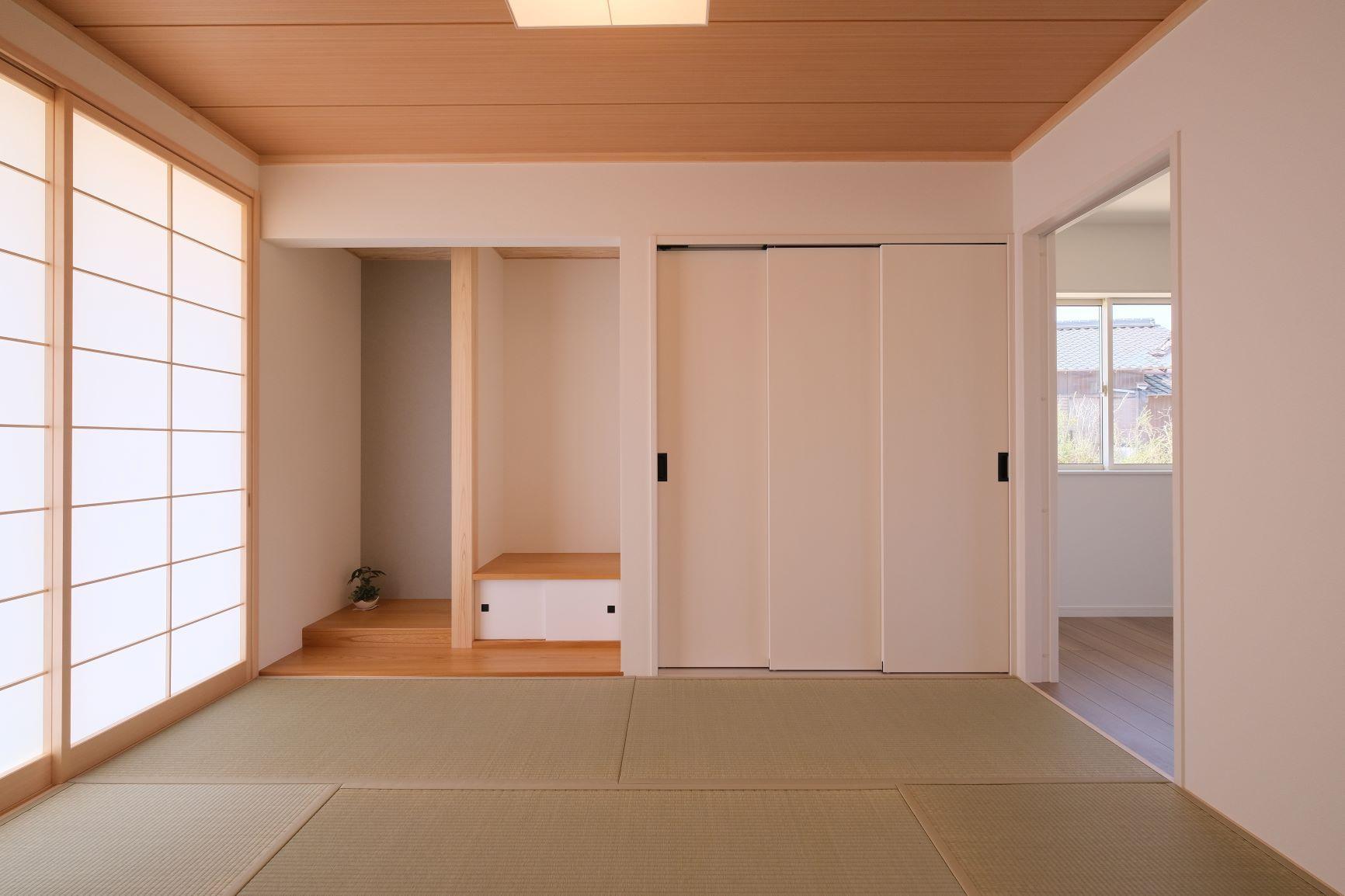 シンプルな和室 和室 モダン リフォーム 和室 モダン 床の間 和室