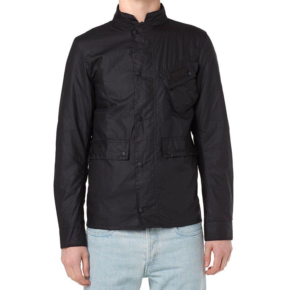 Barbour International Ouston Jacket (Black)
