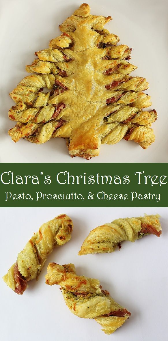 Christmas Party Entree Ideas Part - 39: This Pesto, Prosciutto, And Mozzarella Christmas Pastry Is Easy To Make And  Super Delicious