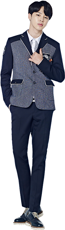 View And Download Hd Jungkook Full Body Png Jpg Black And White Stock Jimin In School Uniform Png Image For Free The I Body Picture School Uniform Full Body