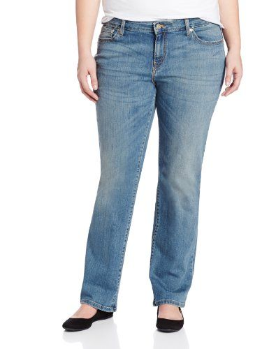 28a093be0f6 Levi s Women s 590 Plus-Size Fuller Waist Straight Leg Jean - Listing  price   58.00 Now   42.99