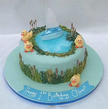 Five Little ducksPond theme First Birthday Ideas Pinterest
