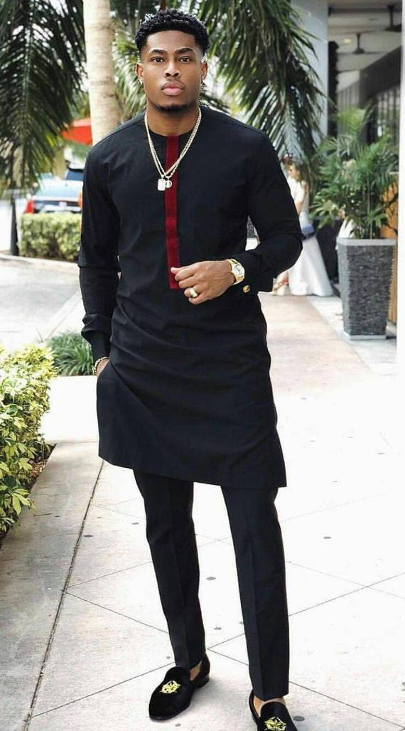 wedding suit African fashion dashiki suit, African men/'s outfit African Attire African suit African Clothing African WEDDING suit