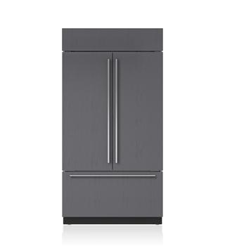 Sub Zero 42 Classic French Door Refrigerator Freezer With Internal Dispenser Panel Ready Bi 42ufdid Built In Refrigerator French Door Refrigerator Sub Zero