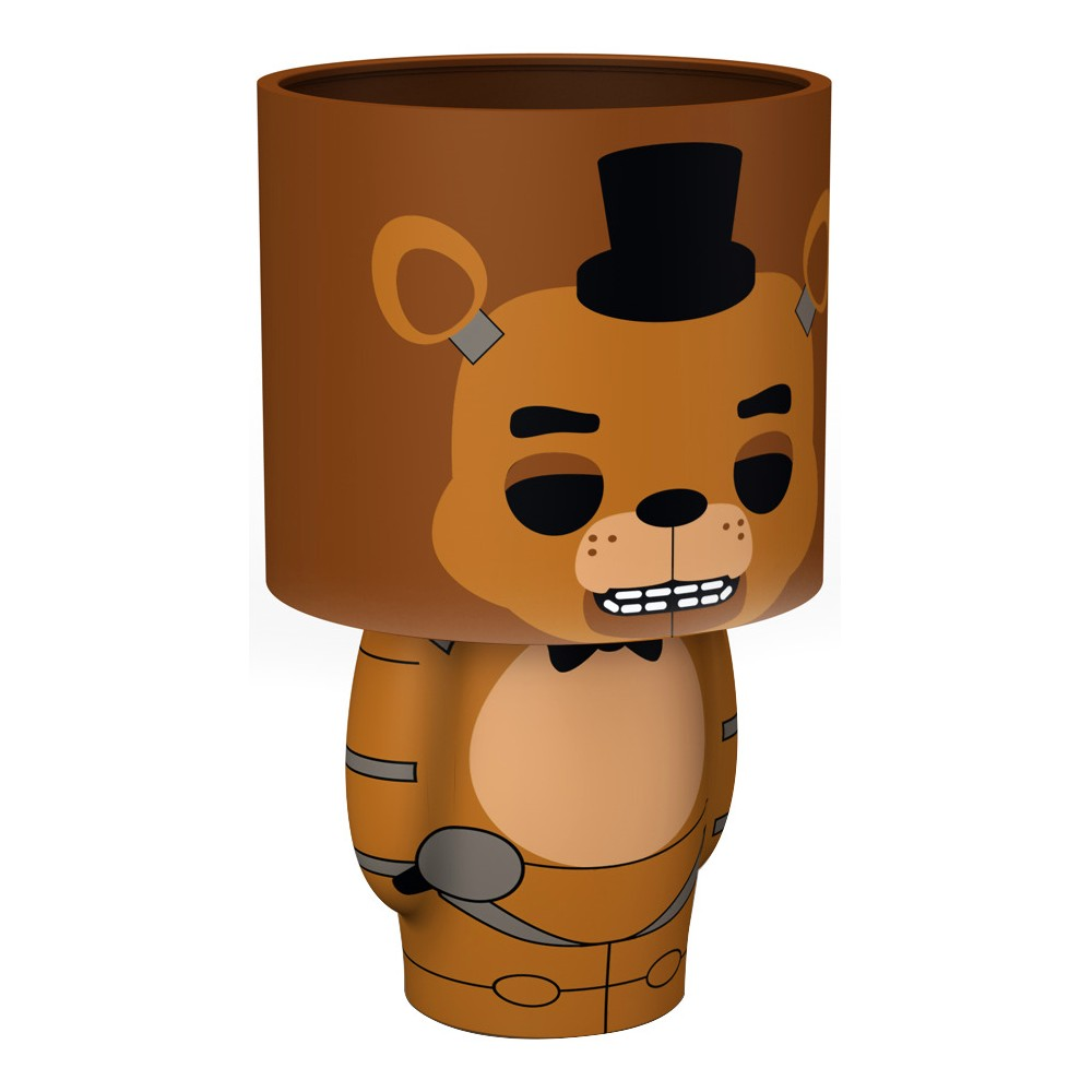 Five Nights At Freddy S Lamp Brown Five Nights At Freddy S Fall Bedding Five Night