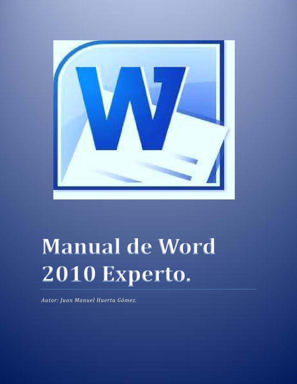 MANUAL DE WORD | Crear