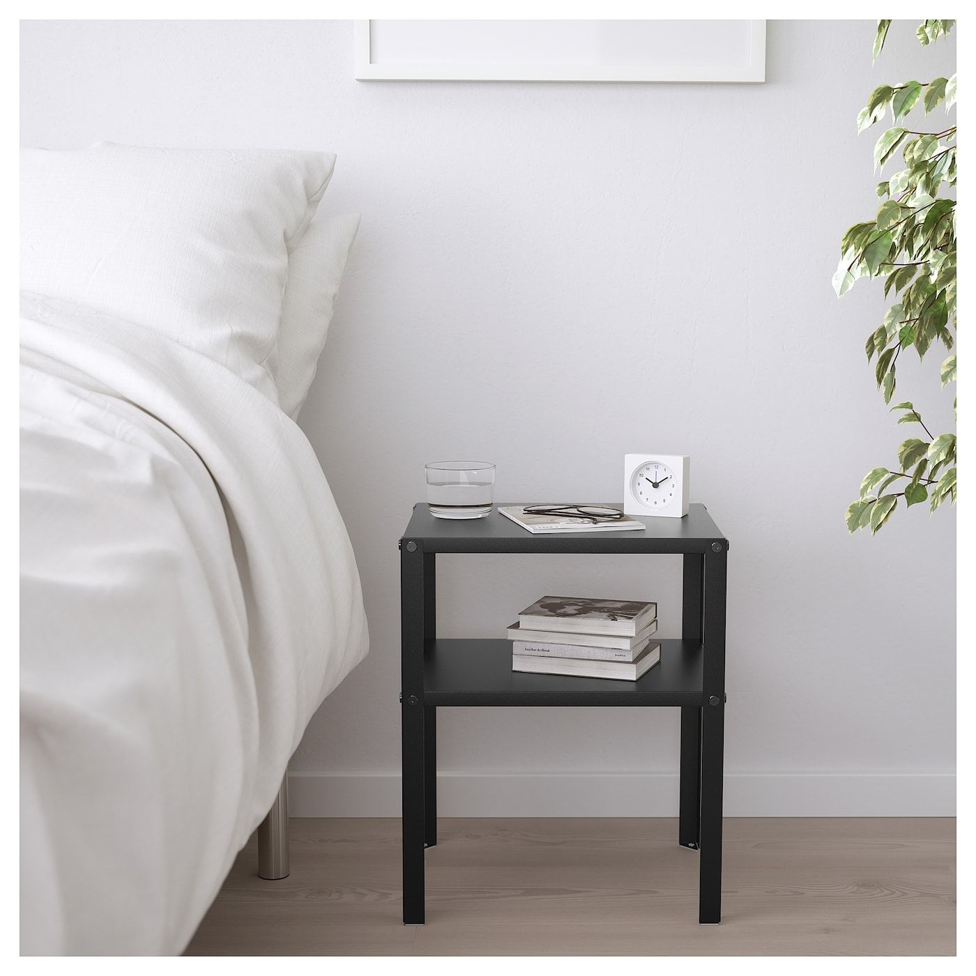 Knarrevik Nightstand Black Ikea Small Nightstand Black