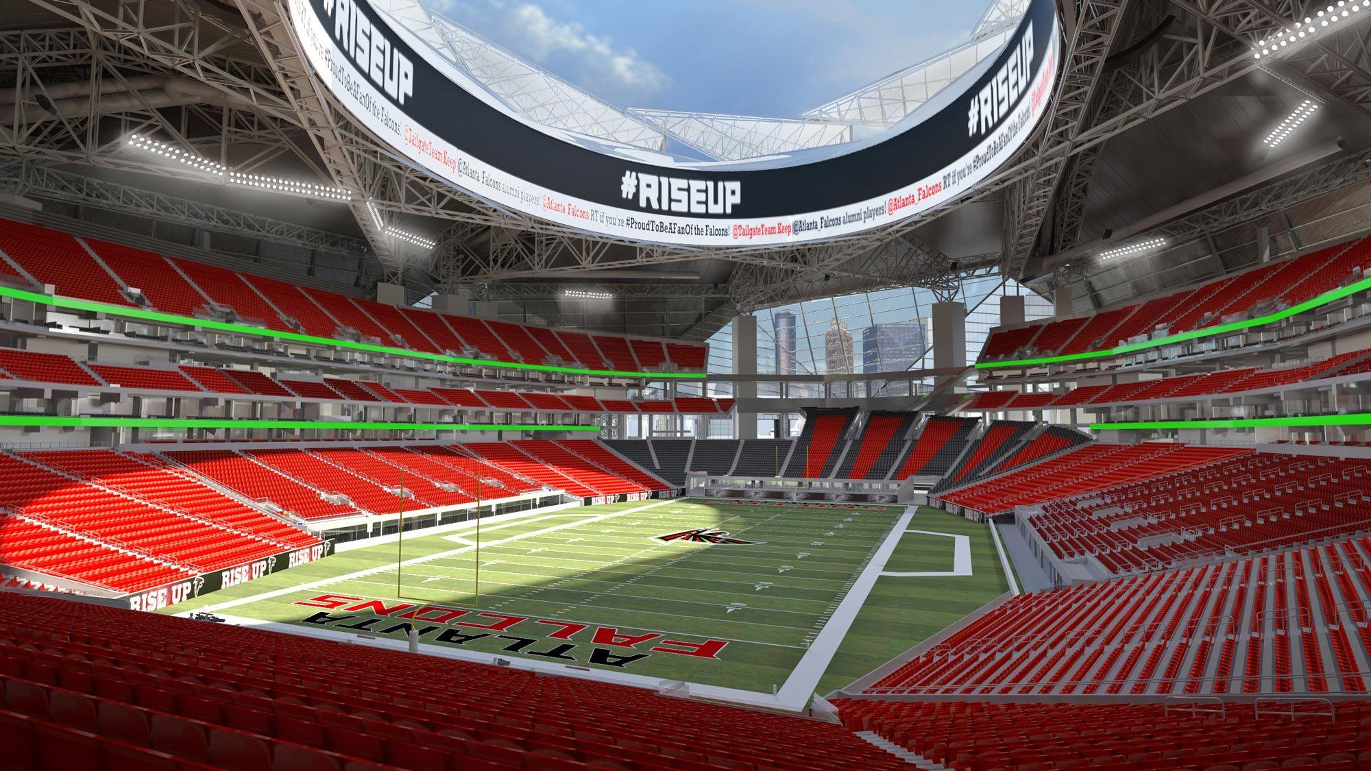 New Atlanta Stadium Overview New Atlanta Stadium Atlanta Falcons Stadium Stadium Atlanta