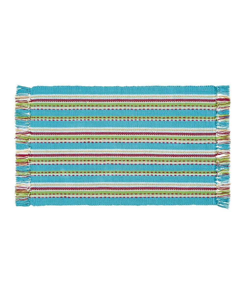 3' x 5' Tropical Stripe Rug