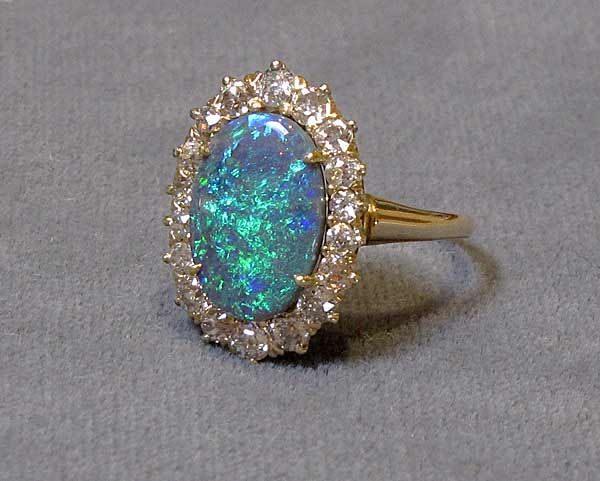 Vintage Opal Engagement Rings - Google Search