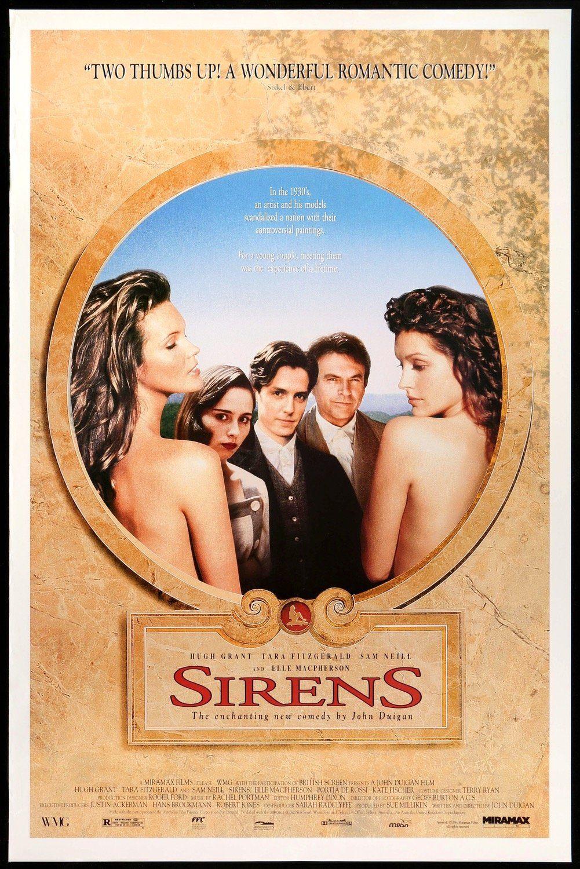 Sirens 1994 In 2021 Movie Posters Hugh Grant Elle Macpherson