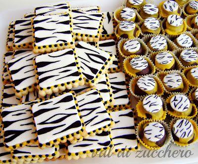 Galletas cebra zou decoracion cebra zou pinterest for Decoracion cebra