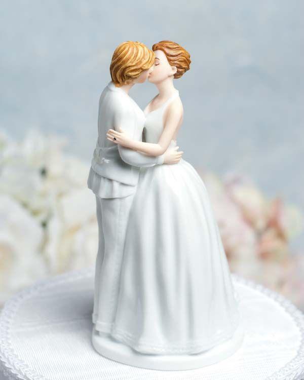 Lesbian Cake Topper Someday Wedding Day Pinterest
