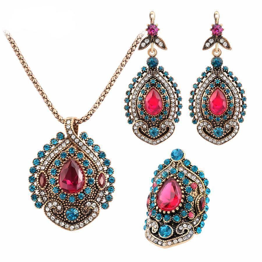 soutache set summer set Lovely soutache set earrings bracelet jewelry set