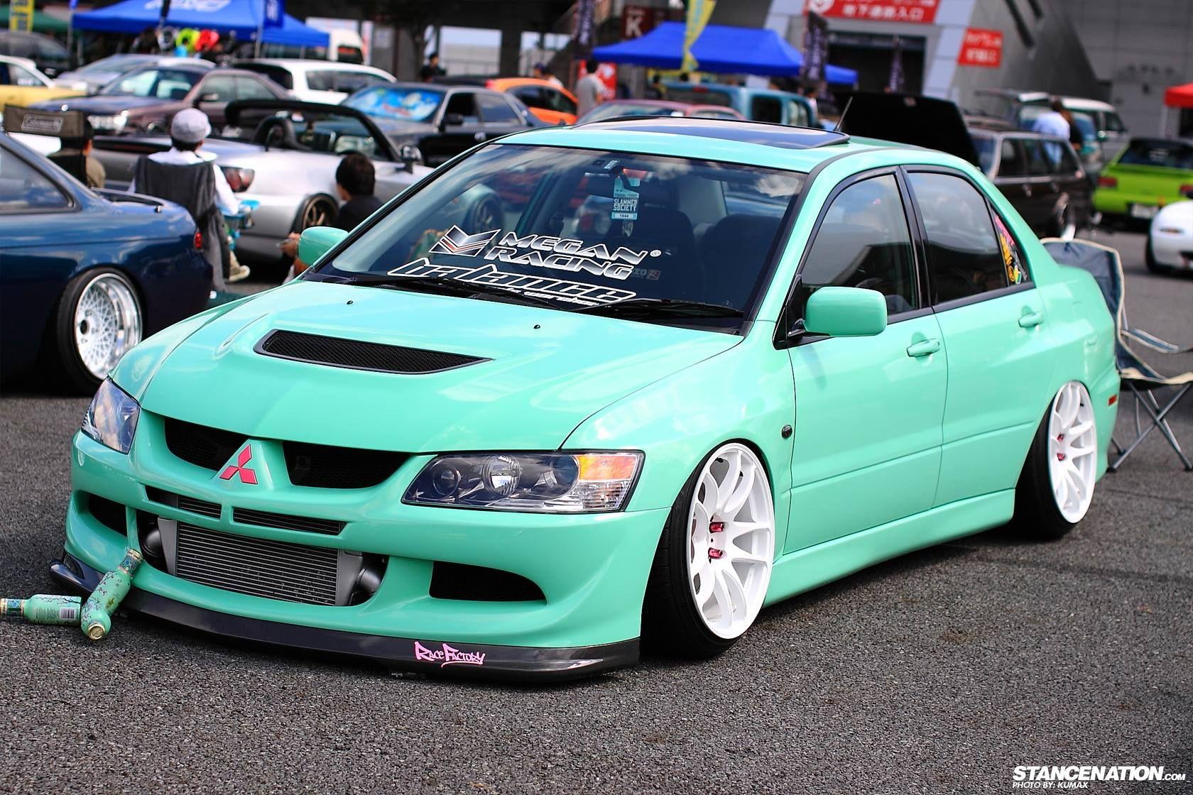 Mint Evo Cars Car Vehicles Cars