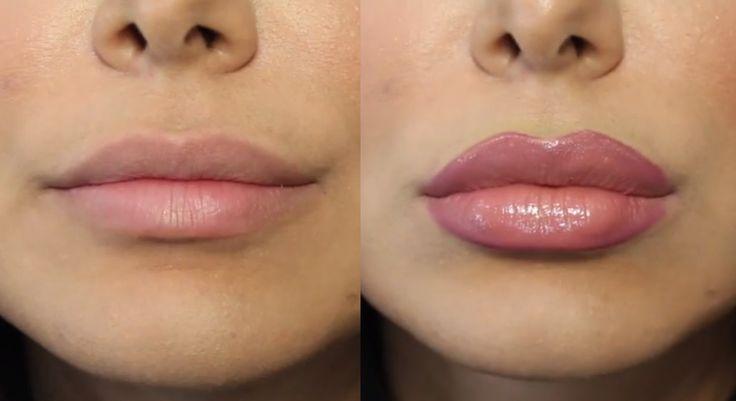 How To Fake A Lip Job For Real Video Lip Job Beauty Makeup Tips Lip Colors