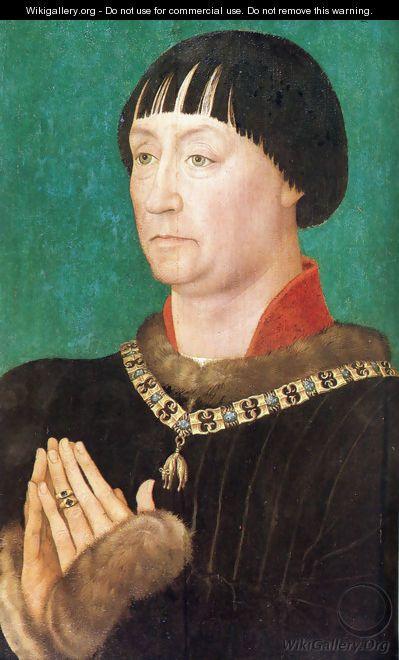John I of Cleves (1419-1481), reigned Duchy of Kleve, Germany - Rogier van der Weyden
