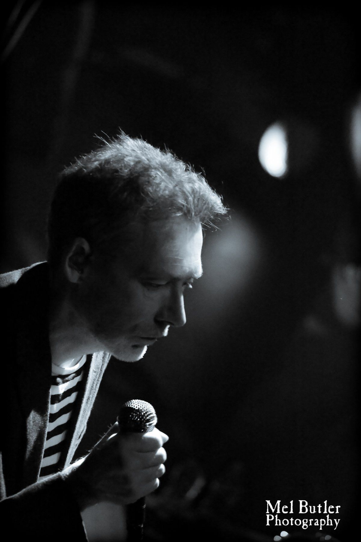 Jim Reid. The Jesus And Mary Chain. Damage and Joy Tour. Newcastle Riverside 23.03.17