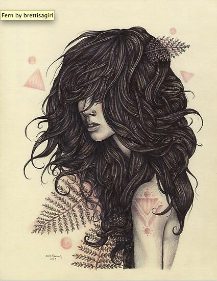 "Image Spark - Image tagged ""girl"", ""drawing"", ""hair"" - emilyfox"