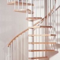 Best Wooden Spiral And Modular Stairs Space Saving Staircase 640 x 480