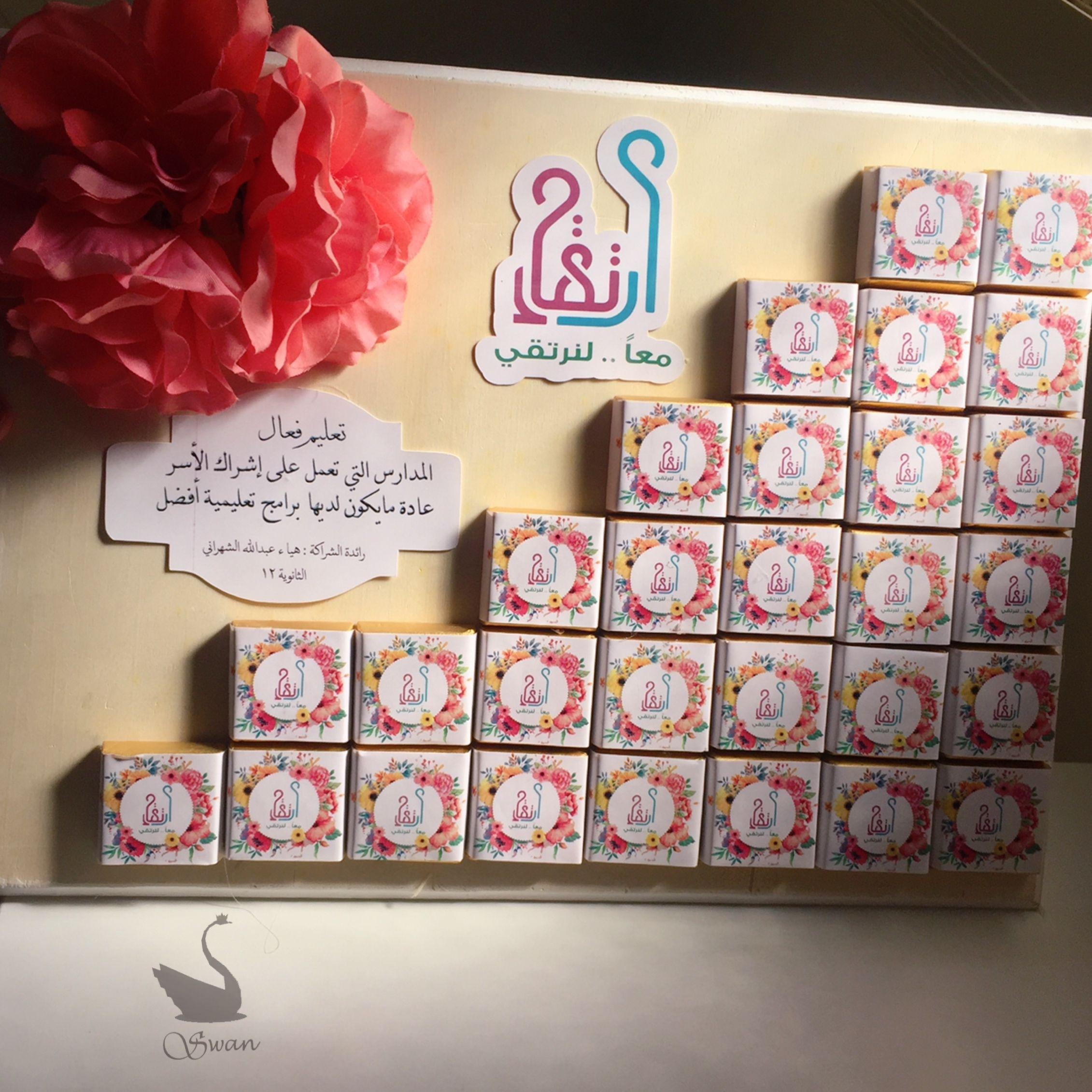 شوكولاته توزيعات ثيمات ارتقاء School Diy Letter Gifts