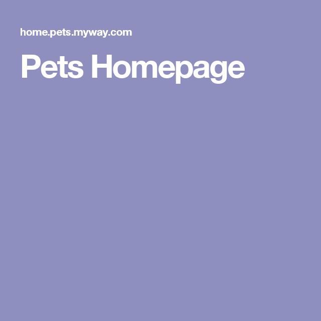 Pets Homepage