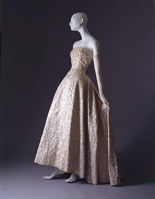 e89d0589ba5 Christian Dior ball gown fall winter 1953–1954 House of Dior French from  silk