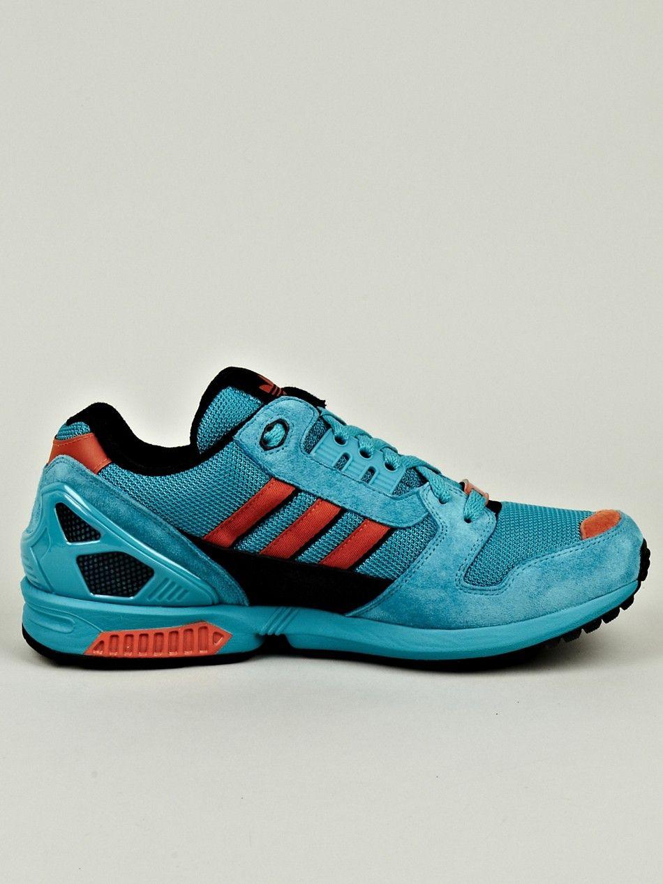 2017 Adidas Originals Orange Blau Herren Schuhe Sport