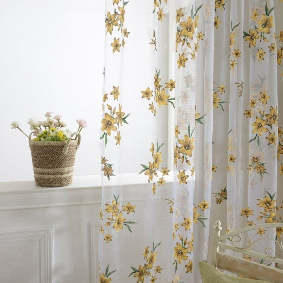10 Awesome Pieces Of Home Decor Under 10 Decor Floral Curtains