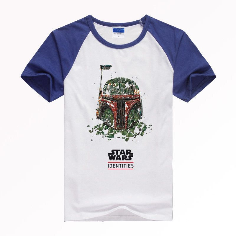 Star Wars T Shirts Popular Short Sleeve Men 3D T Shirts Round Neck Casual Male T Shirt