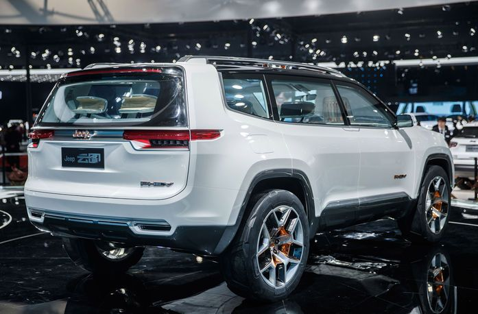 The Jeep Yuntu Concept Is A Luxury Phev Suv For Modern Chinese