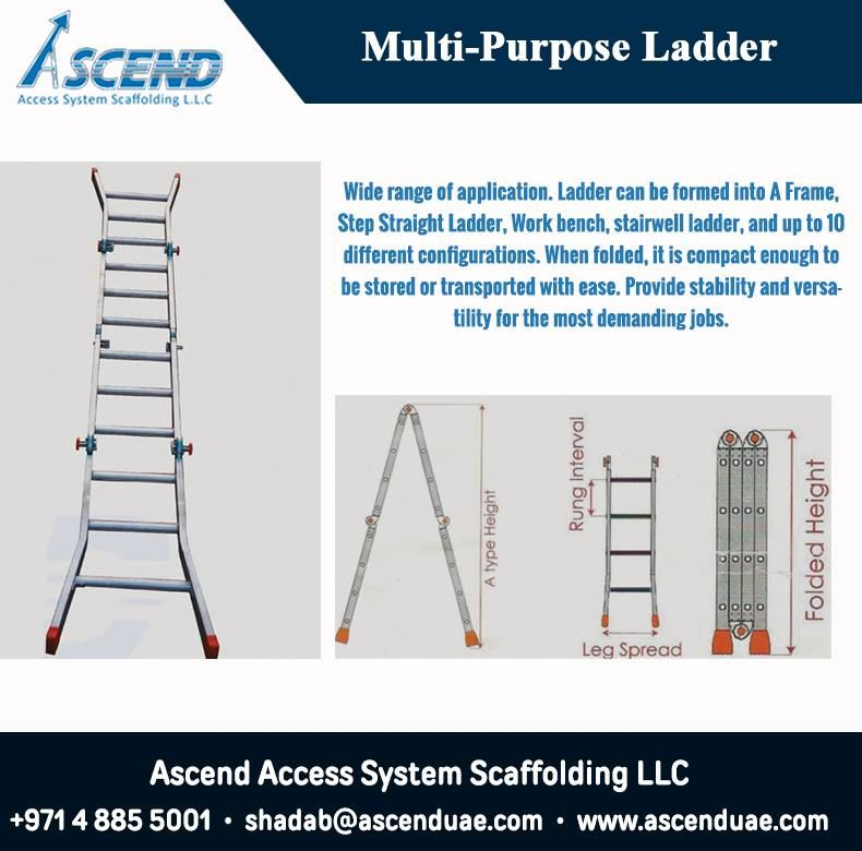 Multipurpose Ladder Manufacturer Multipurpose Ladder Dubai Aluminium Tube Supplier Dubai Multi Purpose Ladder Step Ladders Aluminium Ladder