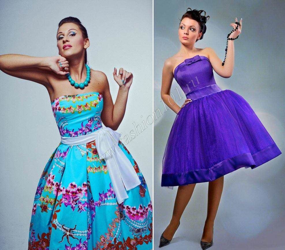 Платья в стиляги своими руками