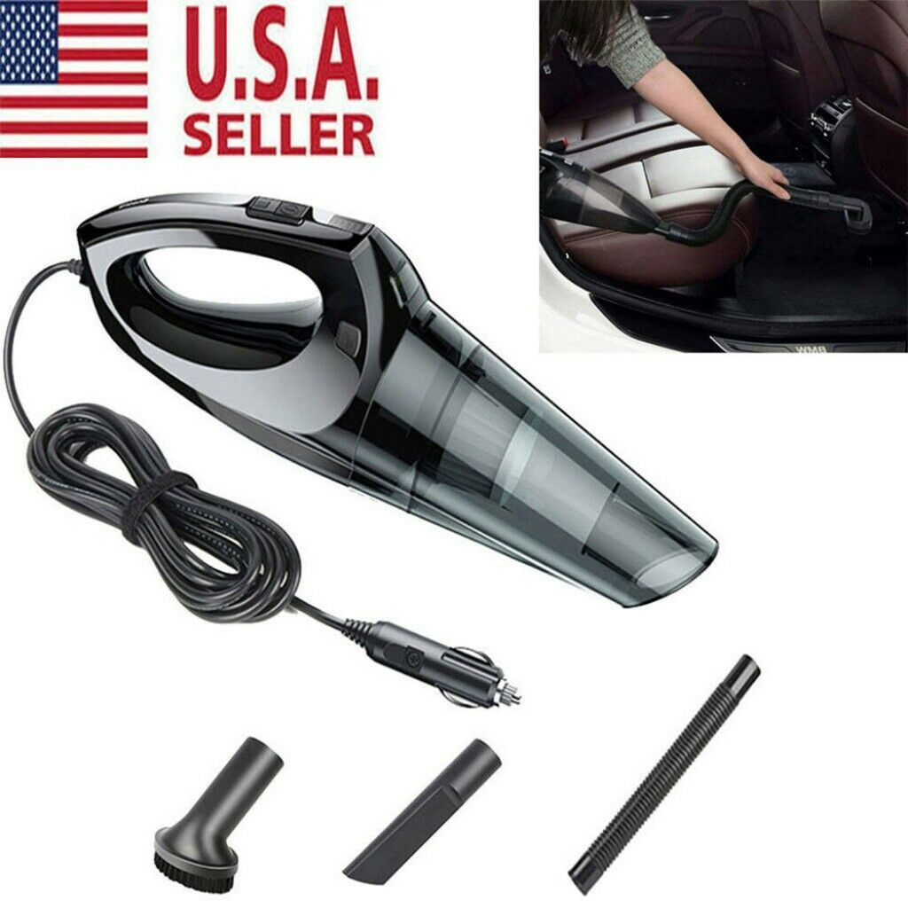 Car Vacuum Cleaner Auto Wet Dry 12V Hand Held Portable Handheld Mini Duster Dirt