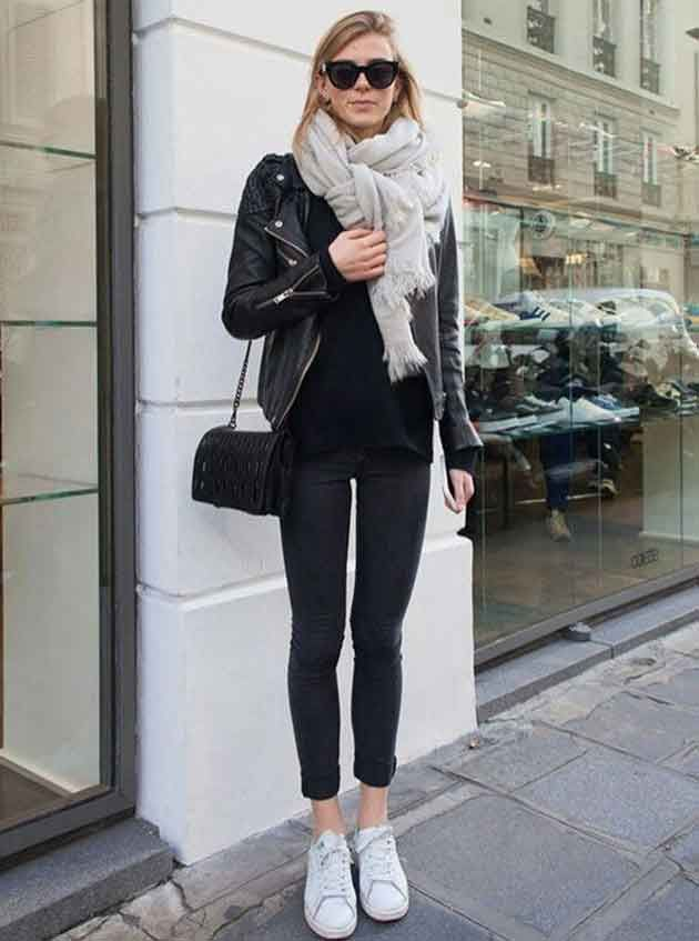 huge discount bfea0 360f5 Black Bomber Jacket Womens, Adidas Leather Jacket, Moto Jacket, Leather  Jacket Outfit Spring