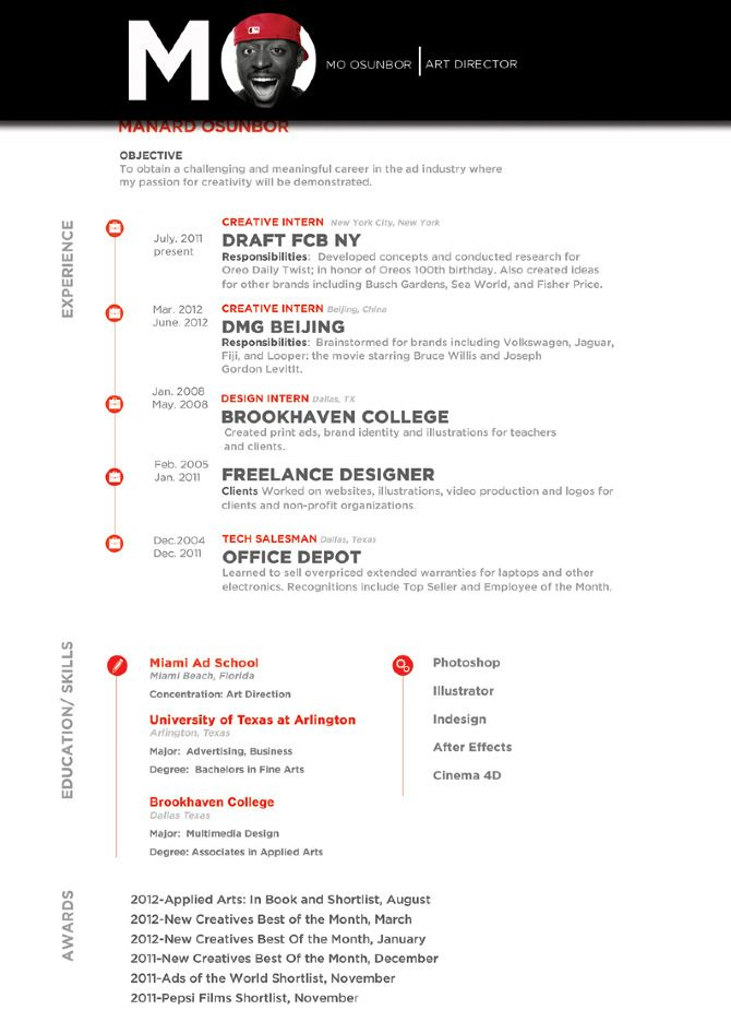 art director resumes Art Director Resume Design a Job Art