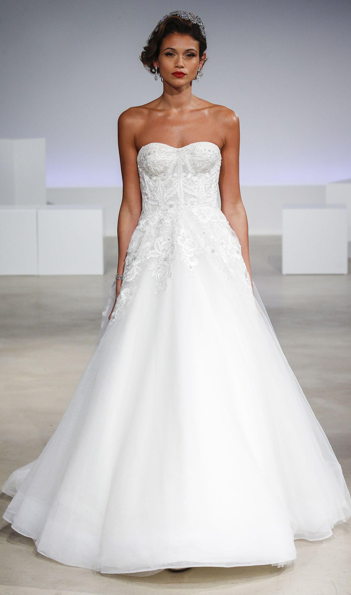 Simple Ball Gown Wedding Dress on Kleinfeld Bridal