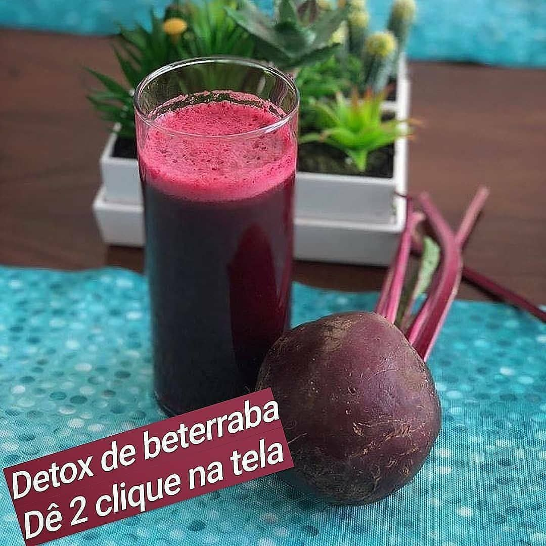 Suco Detox De Beterraba Clique E Veja Como Fazer Em 2020