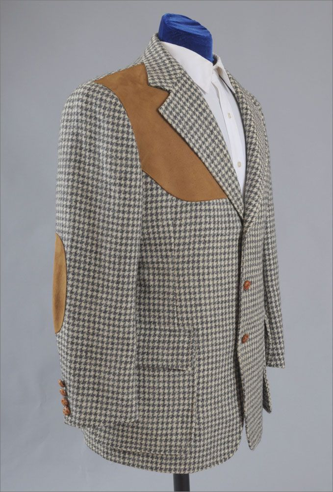 60s 70s Vintage Men S Tweed Shooting Jacket Fabulous 40 Tweed Shooting Jacket Tweed Vintage Men