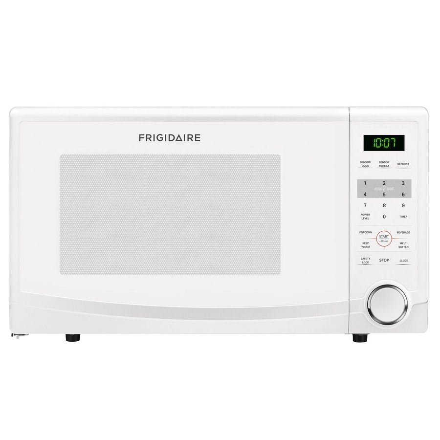 Shop Frigidaire 1 1 Cu Ft 1100 Watt Countertop Microwave White At Lowes Com With Images Countertop Microwave Frigidaire Microwave