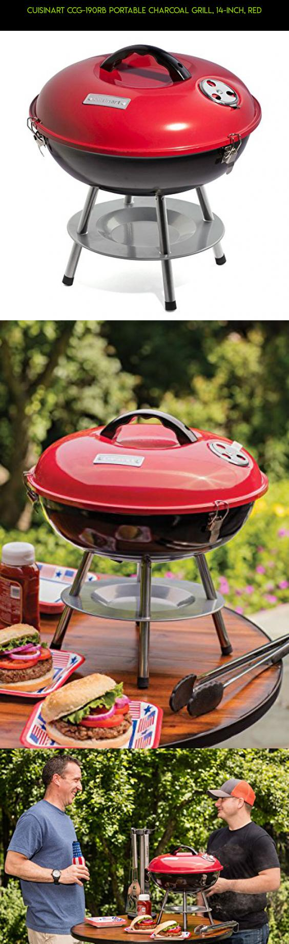 Ordinaire Cuisinart CCG 190RB Portable Charcoal Grill, 14 Inch, Red #products #